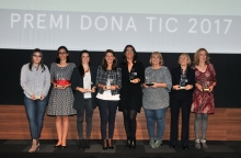 Winners of the Premi Dona TIC 2017
