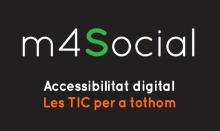 """Part de la portada de la guia """"Accessibilitat digital. Les TIC per a tothom"""""""