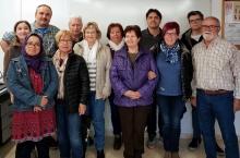 """El grup que ha participat en la formació """"Sense por!"""" amb el dinamitzador del gòTIC, Ramon Oromí"""