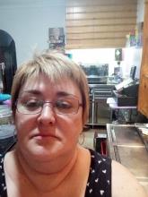 Carmen Sandonis in her bar