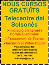 El Punt TIC del Solsonès dóna a conèixer els nous cursos