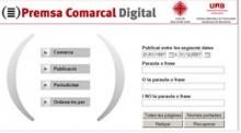Es digitalitza gran part de la premsa comarcal catalana