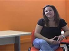Mercè Fort ensenya el Punt TIC de Santa Bàrbara: l'Infocentre