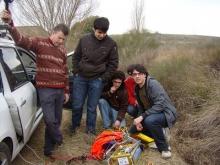 Llançament de la sonda meteorològica Meteotek08