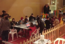 L'Infocentre participa en el parc de Nadal