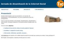 Jornada de dinamització de la Internet Social