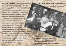 Els blocs, transmissors de la memòria històrica del Ripollès