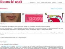 """Aprendre """"els sons del català"""" per Internet"""