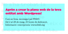 Course: Create the website of your organization with WordPress