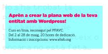 Curso: Crea la página web de tu entidad con WordPress