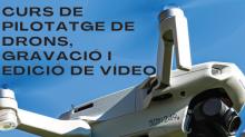 Banner curs pilotatge de drons a l'Alta Ribagorça