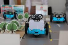 Sessió de robòtica educativa a la Jornada Punt TIC i presó 2019