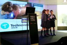 Trobada intermedia de Technovation Challenge a Barcelona
