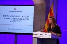 """Presentació de l'informe """"Les Ciberviolències masclistes"""""""