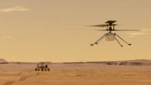 Imagen del Helicops Mars Ingenuity