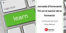 Jornada d'Innovació TIC en el sector de la formació