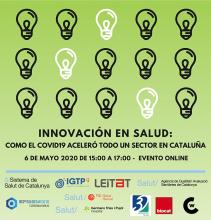 """Jornada """"Innovació en salut: com el Covid-19 ha accelerat tot un sector a Catalunya"""""""
