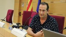 Julio Zino a la trobada de Robòtica i Presó de 2015