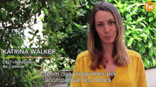Katrina Walker, CEO i fundadora de CodeOp