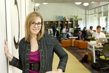 Liz Elam en Link Coworking