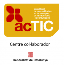 Logo centre col·laborador ACTIC