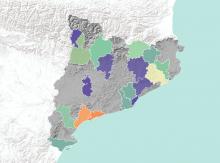Mapa iniciatives Punt TIC Catalunya