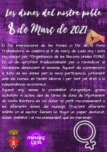 Actividades 8 de marzo 2021 en el Smartcentre de Santa Bárbara