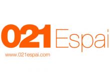 Logotip del centre de coworking 021Espai