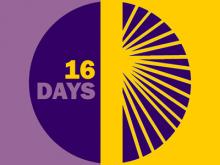 Logotip de la campanya 16 dies d'activisme contra la violència vers les dones