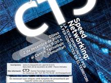 Part del cartell de les jornades sobre Speed Netqworking del CTC de Masquefa