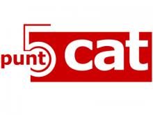 Logotip dels 5 anys de puntCAT