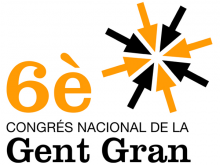 Logotip del 6è Congrés Nacional de la Gent Gran