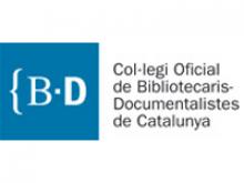 Logotip del Col·legi Oficial de Bibliotecaris-Documentalistes de Catalunya