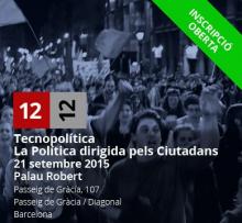 Jornada Tecnopolítica: La política dirigida pels ciutadans