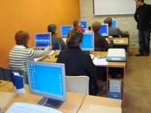 Foto d'un dels cursos al Telecolòni@