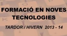 """Títol """"Formació en noves tecnologies tardor-hivern 2013-2014"""""""