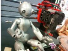 Robot generat amb una impressora 3D