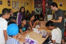 Taller de Little Bits al Casalnet de l'Associació per a Joves Teb