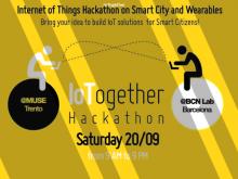 IoTogether, primer hackathon simultani entre Barcelona i Trento