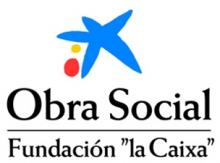 """Logotip Obra Social de la Fundació """"la Caixa"""""""