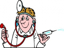 Dibuix d'un metge
