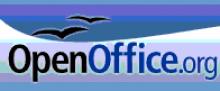 Logotip del programa OpenOffice