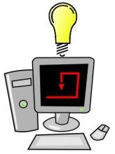 Dibuix d'un ordinador