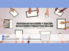 Postgrau en Disseny i Edició d'Accions Formatives On-line