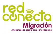 Logo Red Conecta Migración