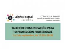 Taller projecció professional
