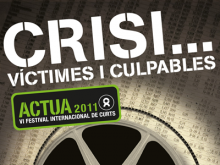 Part del cartell del VI Festival de Curtmetratges Actua