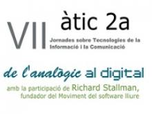 Logotip VII jornades àtic 2a