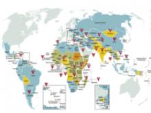 Mapa dels projectes del Banc Mundial