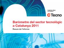 Portada del Baròmetre del sector TIC febrer 2011